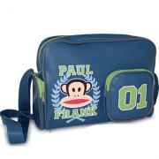 Τσάντα ταχυδρόμου μπλε Paul Frank