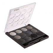 Κασετίνα μακιγιάζ 12 σκιές SMU Black
